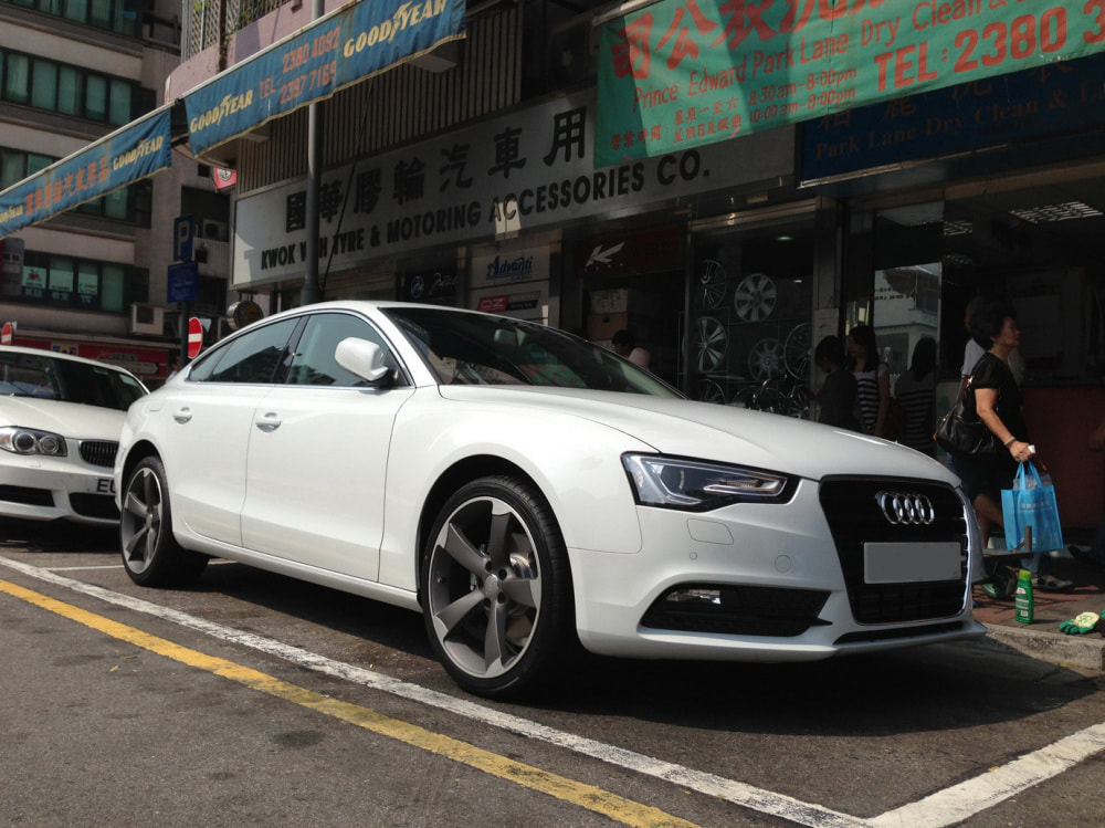 Audi A5 and Audi 5 Arm Rotor wheels and wheels hk and 呔鈴
