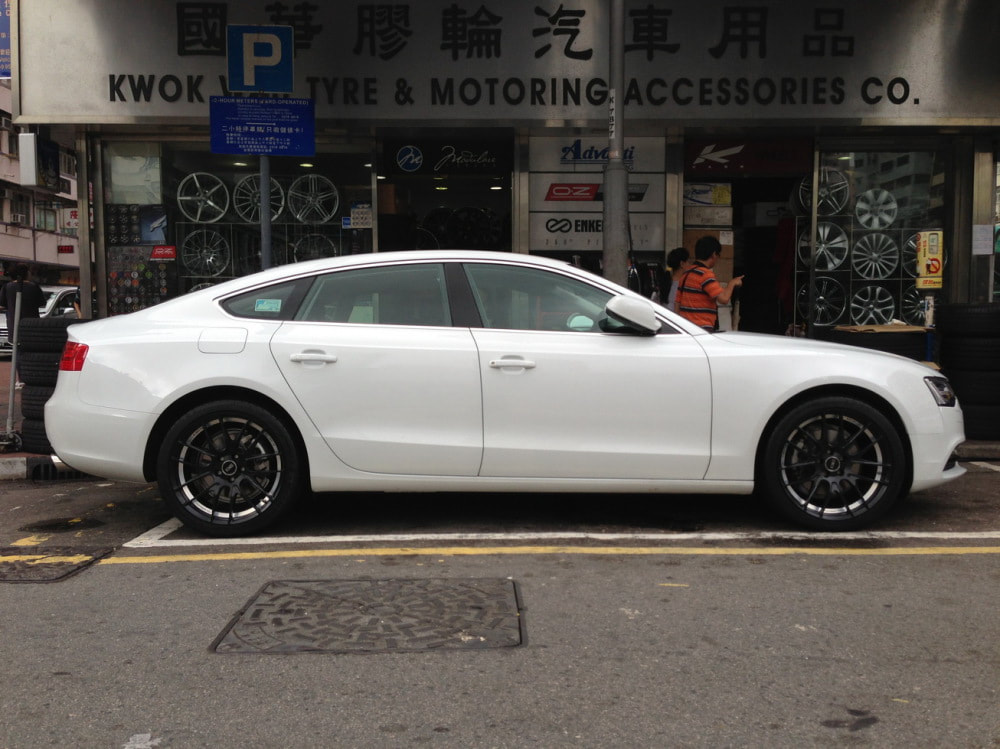Audi A5 and BE by Breyton GTS-AV Wheels and wheels hk and 呔鈴