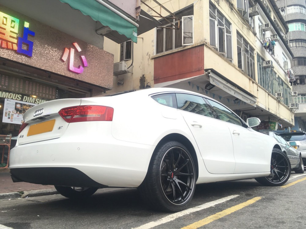 Audi A5 and RAYS G25 Wheels and wheels hk and 呔鈴