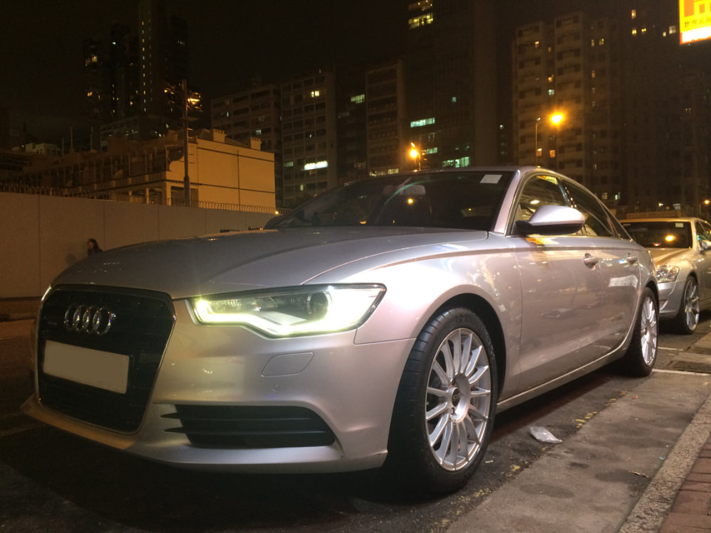 Audi A6 and OZ Racing Superturismo LM Wheels and wheels hk and 呔鈴