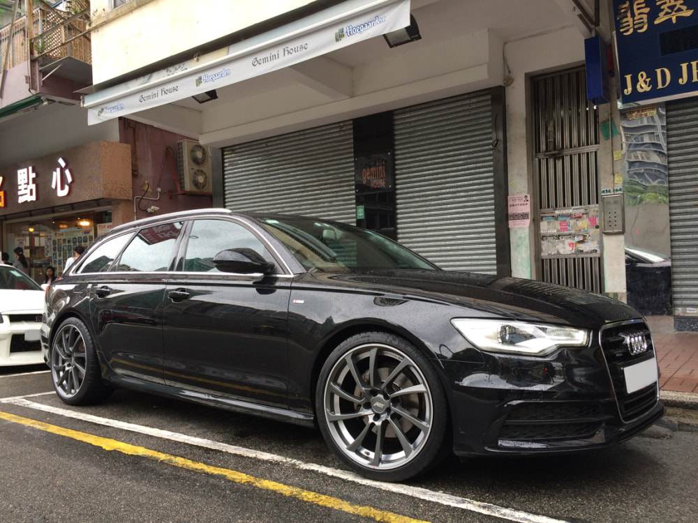 Audi A6 and ABT Sportline DR Wheels and wheels hk and 呔鈴