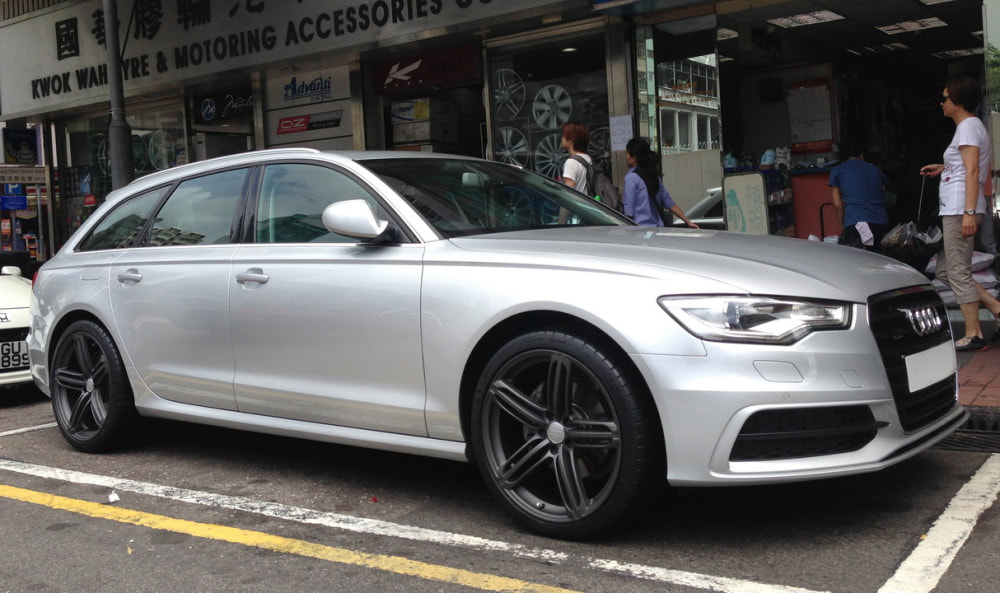 Audi A6 and Audi 5 Segment Wheels and wheels hk and 呔鈴