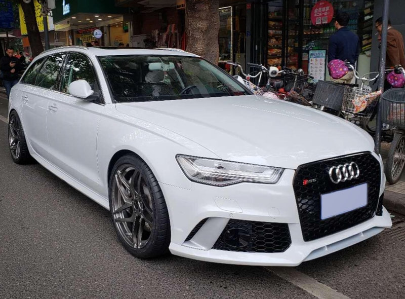 Audi A6 and Breyton Magnetite Wheels and wheels hk and 呔鈴