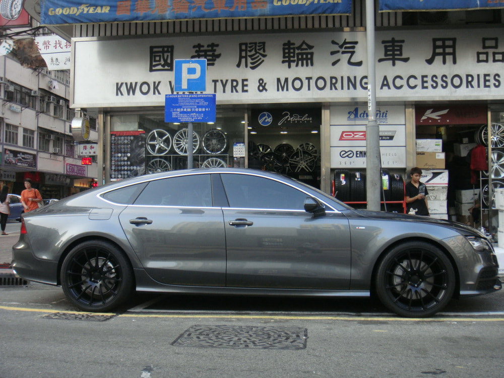 Audi A7 and Prodrive GC012L Wheels and wheels hk and 呔鈴