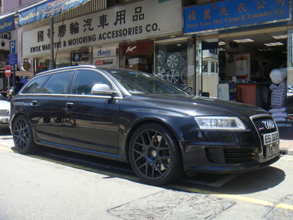 Audi RS6 and Modulare Wheels B1 and wheels hk and 呔鈴