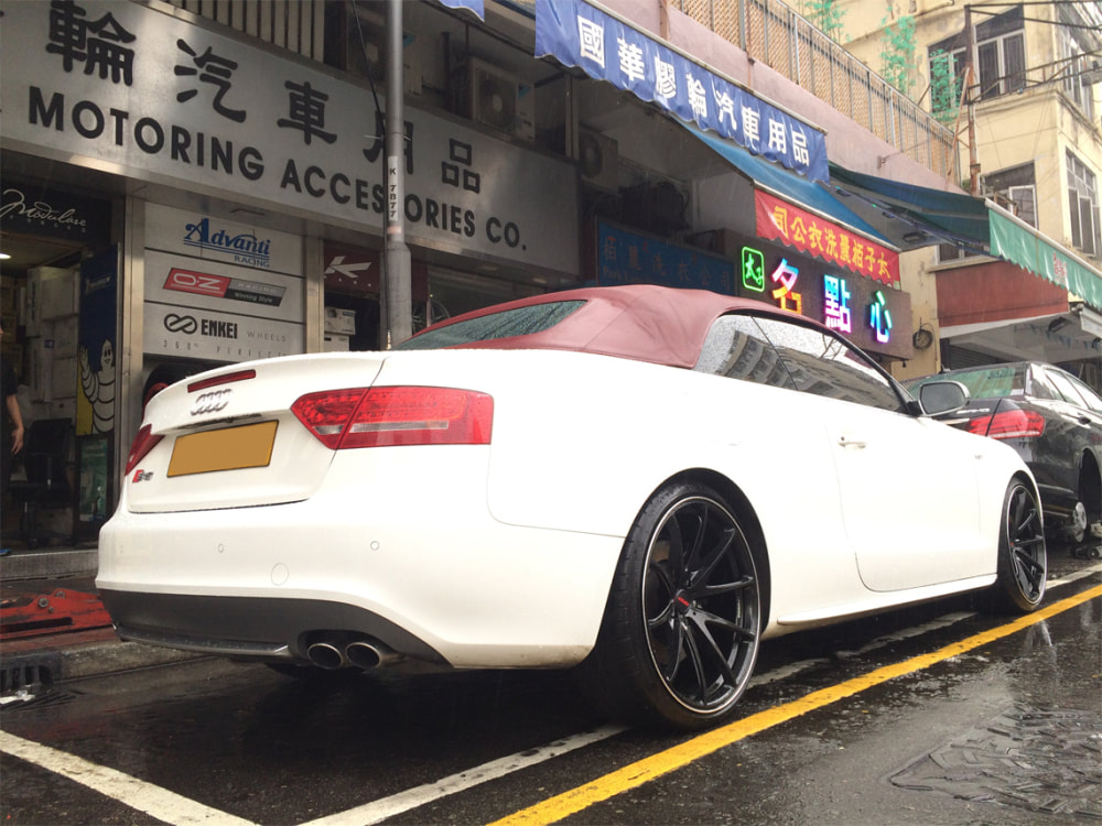 Audi S5 and RAYS Volk Racing G25 Wheels and wheels hk and 呔鈴