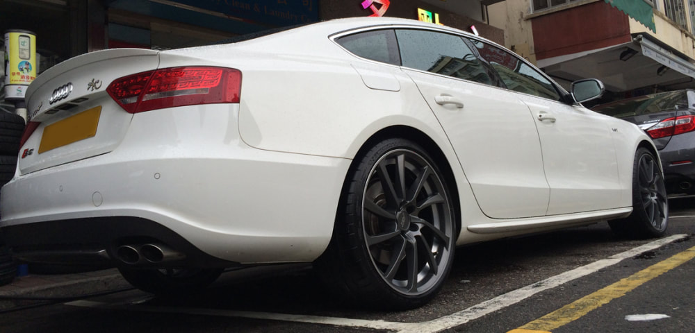 Audi S5 and abt sportsline DR Wheels and wheels hk and 呔鈴