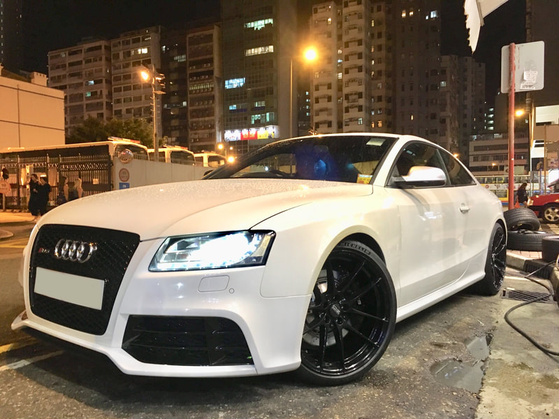 Audi S5 and Oz Racing Wheels Leggera and wheels hk and 呔鈴