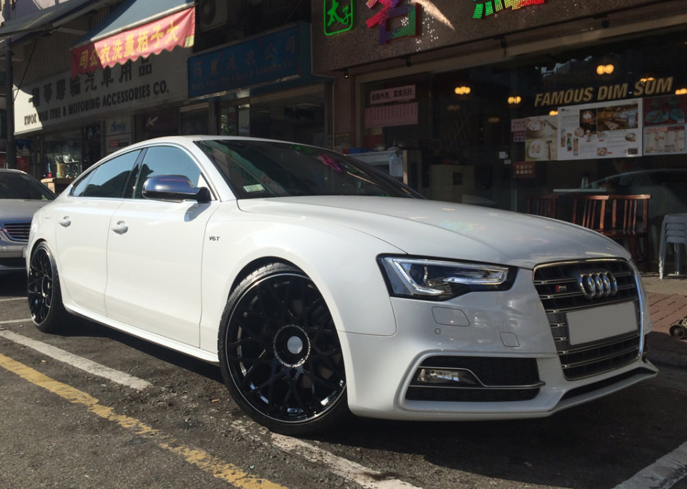 Audi S5 and RAYS VV10M Wheels and wheels hk and 呔鈴