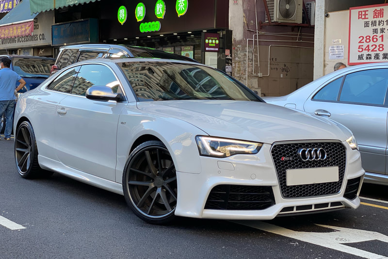 Modulare Wheels C30-DC and audi S5 and wheels hk and tyre shop hk and michelin ps4s tyres and 呔鈴