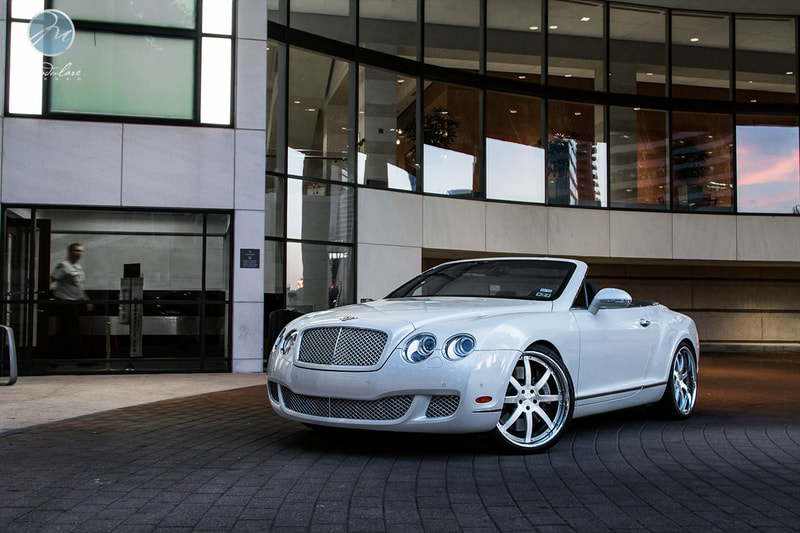 Bentley Continental GT and Modulare Wheels M16 and 呔鈴