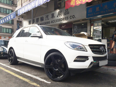 Mercedes Benz W166 ML, Modulare Wheels B7