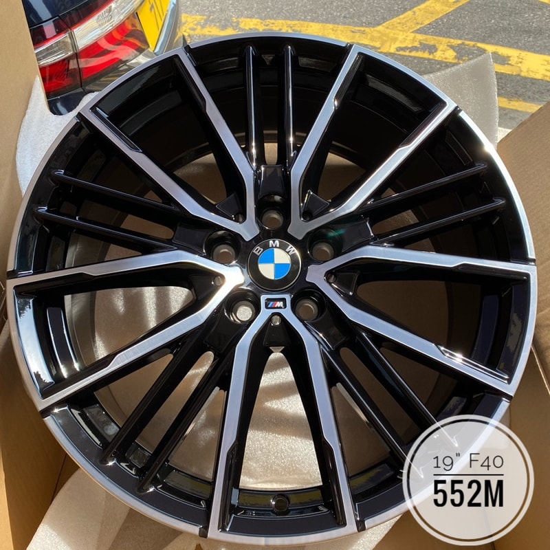 BMW F40 1 series and 552M Wheels and wheels hk and 呔鈴 and 寶馬1系