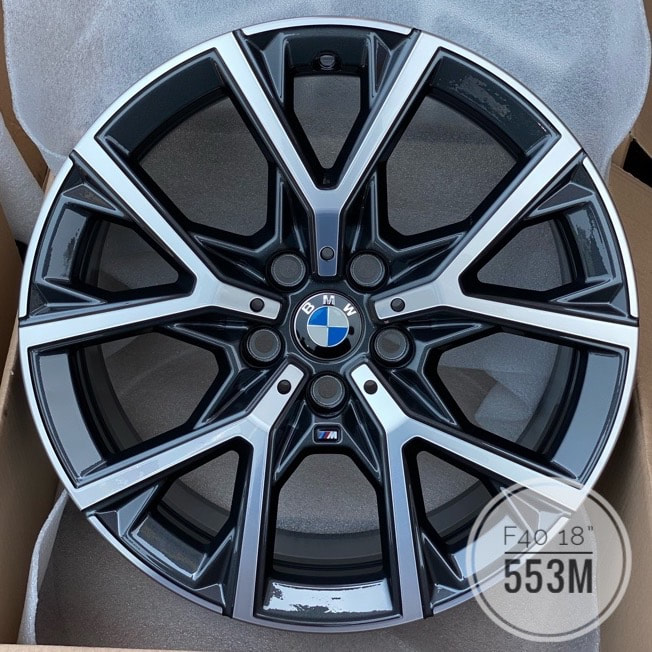 BMW F40 1 series and 553M Wheels and wheels hk and 呔鈴 and 寶馬1系