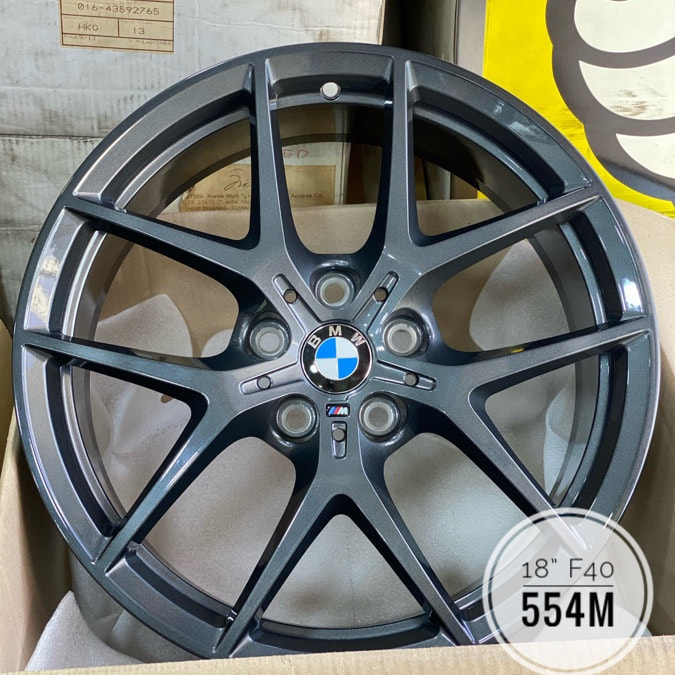BMW F40 1 series and 554M Wheels and wheels hk and 呔鈴 and 寶馬1系