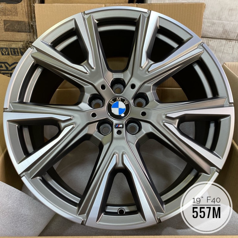 BMW F40 1 series and 557M Wheels and wheels hk and 呔鈴 and 寶馬1系