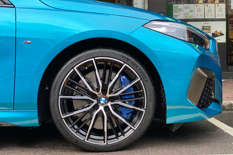 BMW F44 2 Series M235i and BMW 552M Wheels and wheels hk and tyre shop hk and 呔鈴 and michelin ps4s tyres
