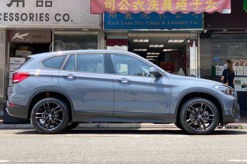 BMW F48 X1 and BBS Wheels SX and wheels hk and 呔鈴