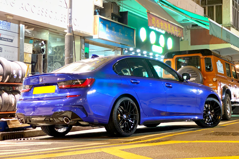 BMW G20 3 Series 320i and Breyton Fascinate wheels and wheels hk and 呔鈴 and tyre shop hk and michelin ps4s tyre