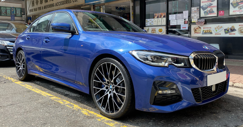 BMW 794M wheels and G20 3 Serie and genuine bmw wheels