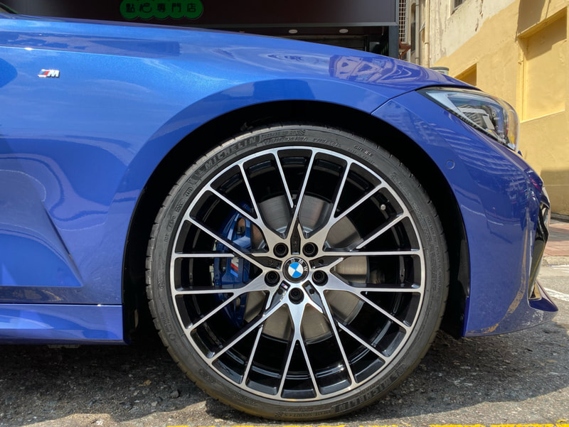 BMW 794M wheels and G20 3 Series and genuine bmw wheels