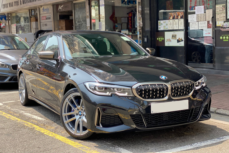 Modulare Wheels B30 and BMW G20 3 Series and wheels hk and 呔鈴
