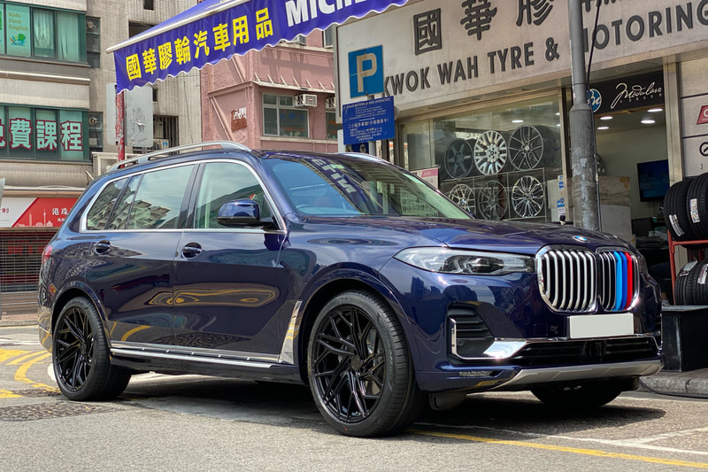 BMW G07 X7 and Modulare Wheels b39 and wheels hk and 呔鈴 and hk tyre shop