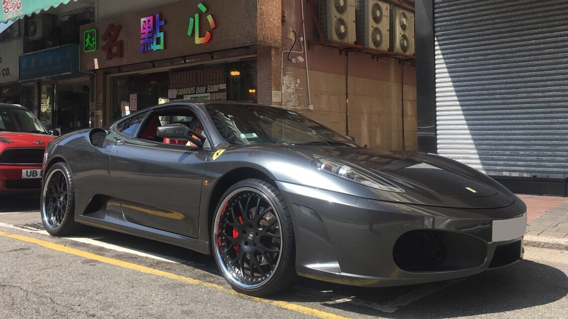 Ferrari 430 and Modulare Wheels M6 and 呔鈴