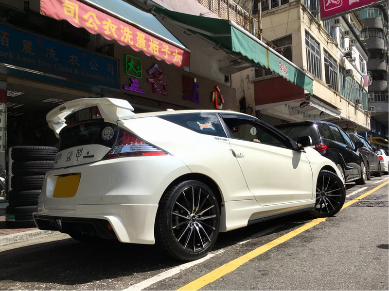 Honda CRZ and RAYS Gram Lights XMA Wheels and 呔鈴 and wheels hk