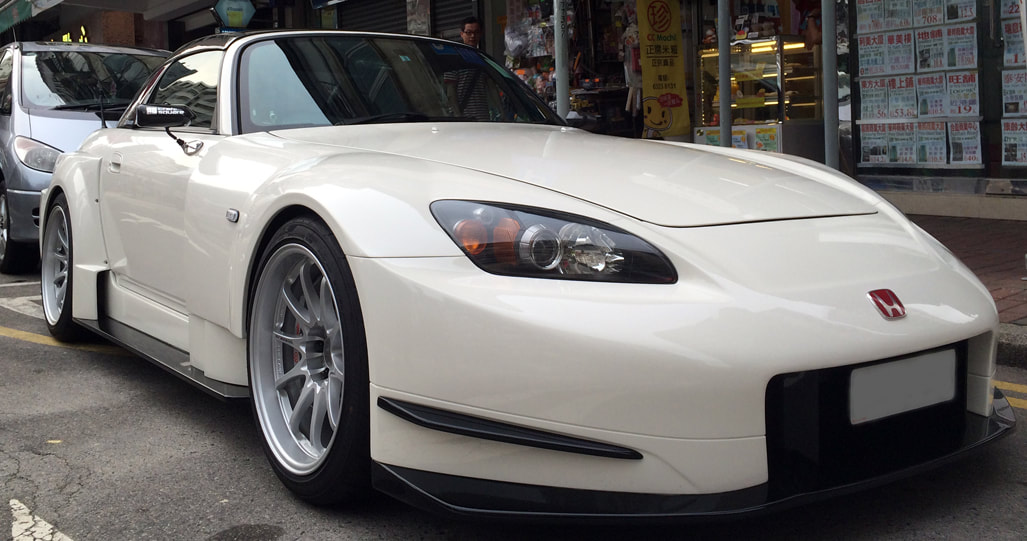 Honda S2000 and RAYS Volk Racing CE28N Wheels and 呔鈴 and wheels hk