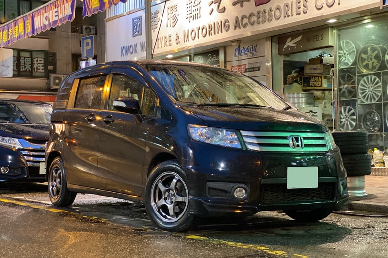 Honda Spike and Honda Freed and Enkei PF05 wheels and wheels hk and tyre shop hk and bridgestone tyres and 呔鈴