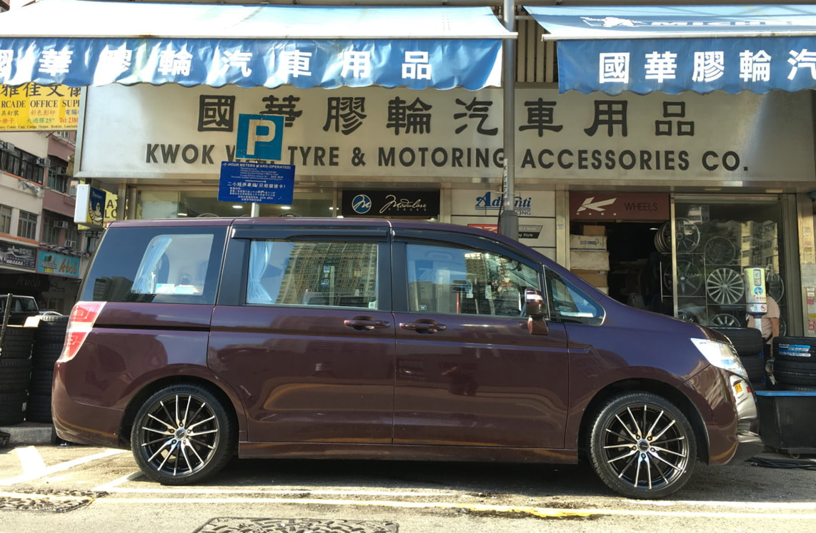 Honda Stepwgn and RAYS Gram Lights XMA Wheels and 呔鈴