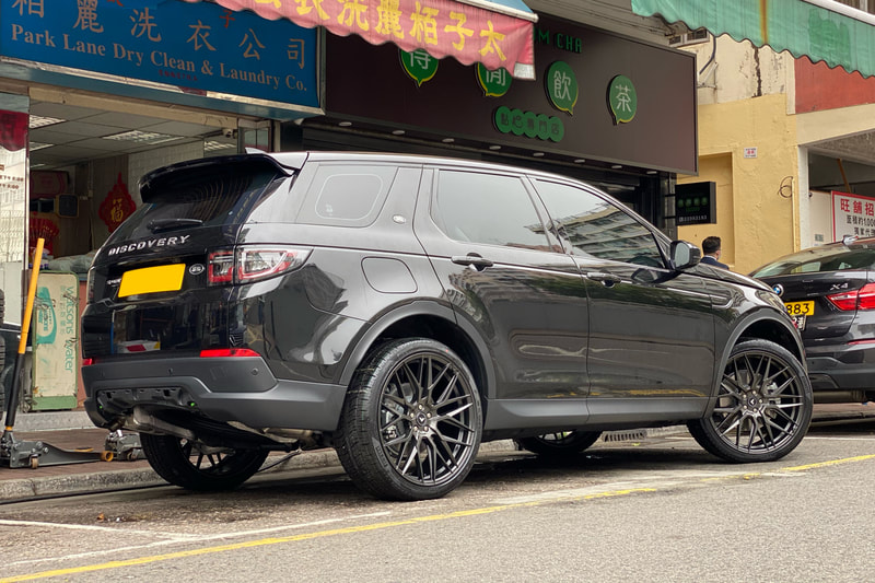 Land Rover Discovery Sport and Vorsteiner Wheels VFF107 and 呔鈴