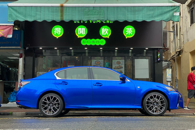 Lexus GS and GS300 and RAYS BNA and 呔鈴