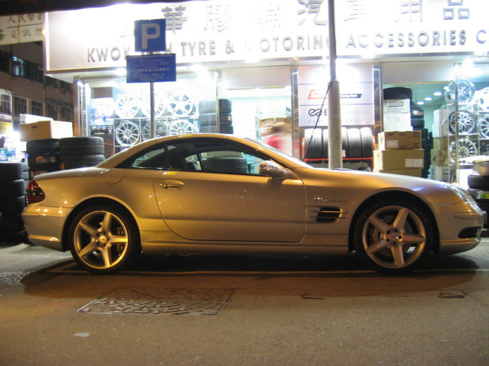 mercedes benz sl500 and amg wheels and wheels hk and tyre shop