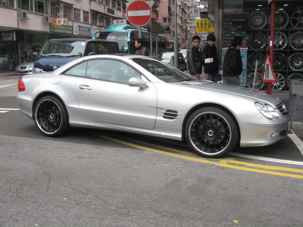 mercedes benz cl500 and modulare wheels m14 and wheels hk and tyre shop