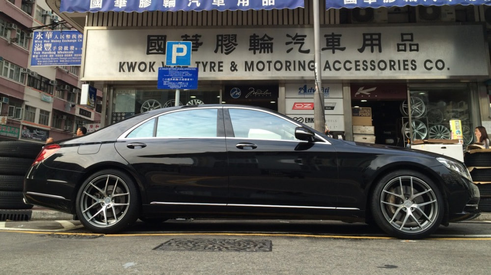 mercedes benz s class w222 and modulare b18evo wheels and wheels hk and tyre shop hk