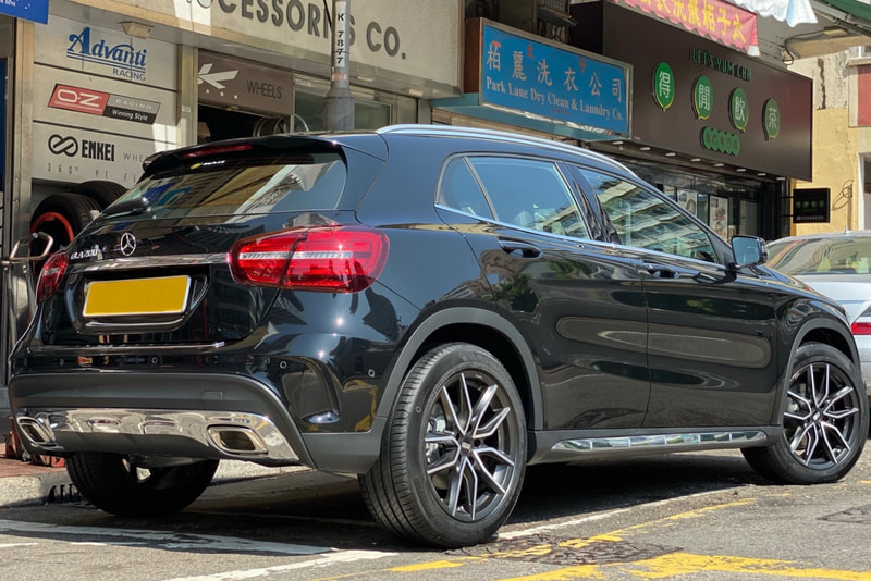 Mercedes Benz X156 GLA and BBS Wheels XA and wheels hk and michelin primacy 4 tyres