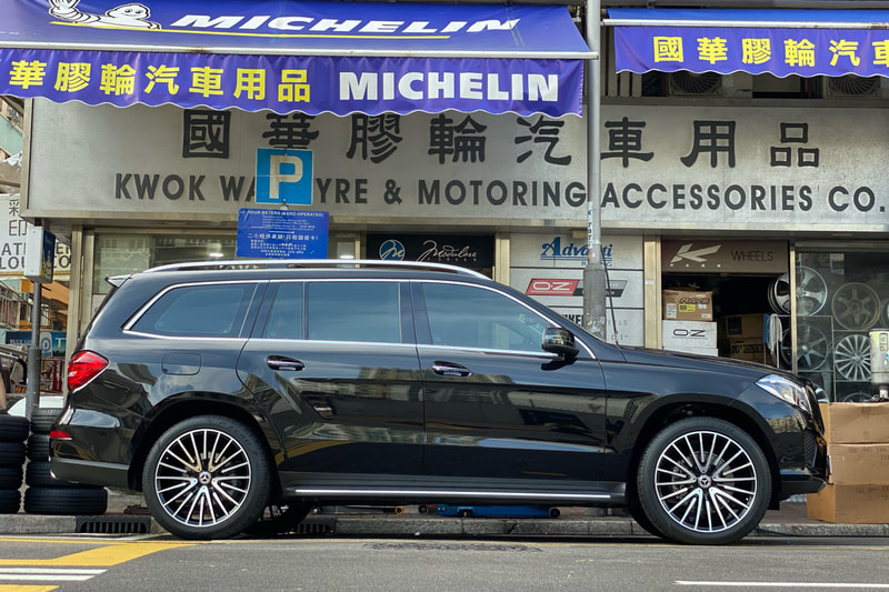 Mercedes Benz X166 GLS and AMG Multispoke Wheels and wheels hk and tyre shop and 呔鈴