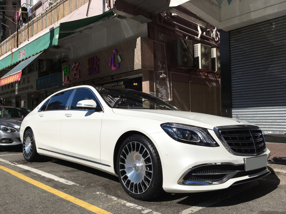 mercedes benz s class x222 maybach and AMG wheels and wheels hk and tyre shop hk