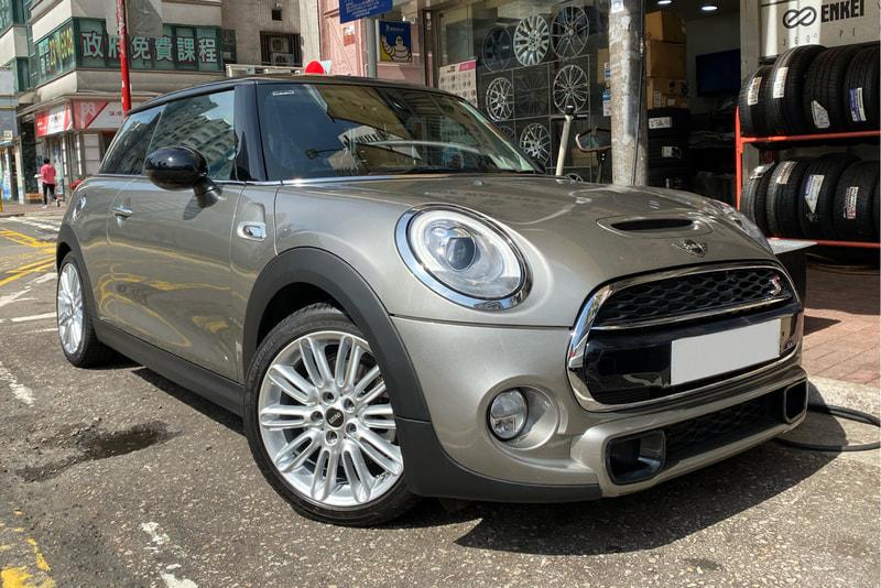 Mini F56 Cooper S and Mini 500 Tentacle Spoke Wheels and 36116856099 and wheels hk and 呔鈴
