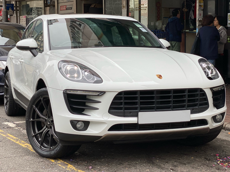 Porsche Macan and Vorsteiner Wheels VFF103 and wheels hk and 呔鈴