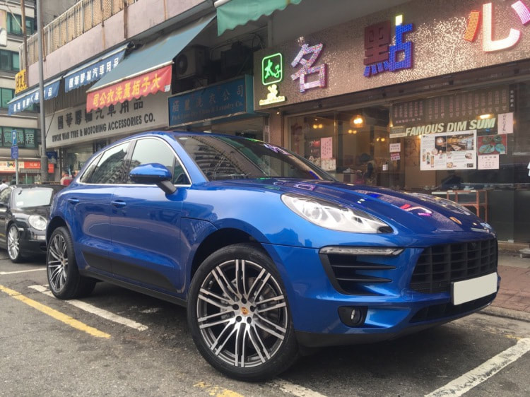 Porsche Macan S and Porsche Turbo Design Wheels and wheels hk and 呔鈴
