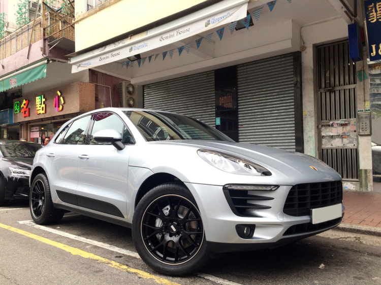 Porsche Macan and BBS CHR wheels and wheels hk and 呔鈴