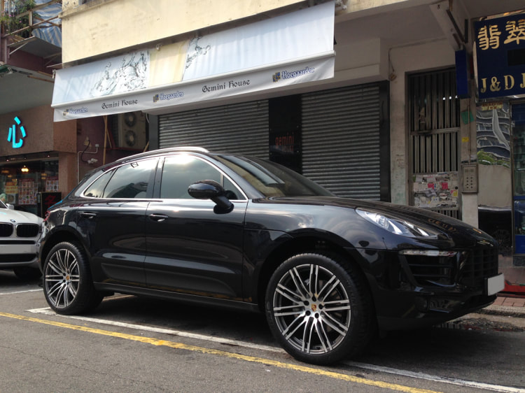 Porsche Macan and Porsche Turbo Design Wheels and wheels hk and 呔鈴