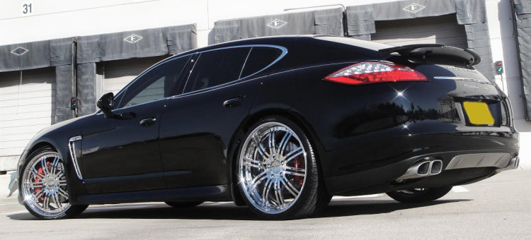 Porsche Panamera and Modulare Wheels M13 and 呔鈴 and wheels hk