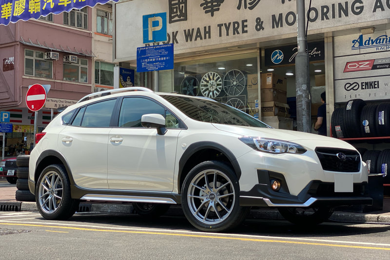 Subaru XV and OZ Racing Leggera HLT Wheels and wheels hk and tyre shop and 呔鈴
