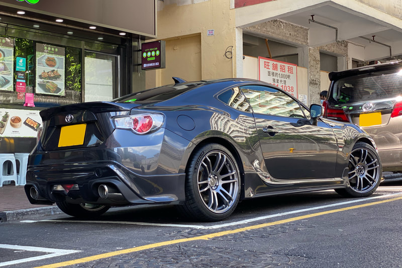 Toyota GT86 and enkei tsp6 Wheels and wheels hk and tyre shop hk and 呔鈴