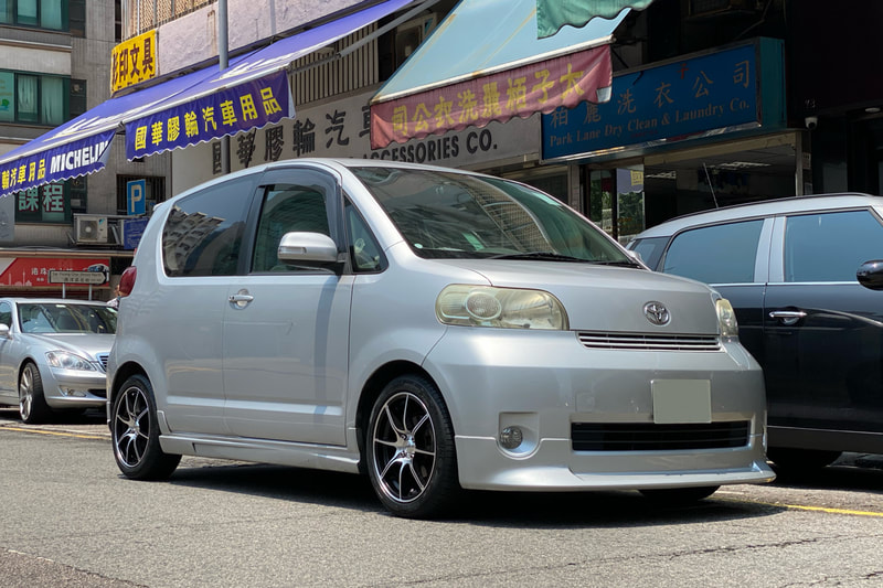 Toyota Porte and Advanti Wheels SK06 and wheels hk and 呔鈴