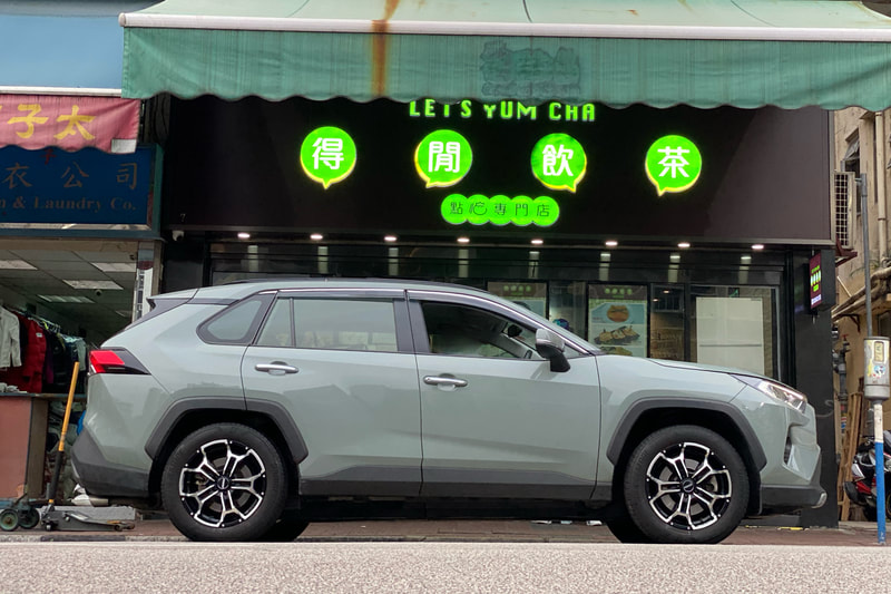 Toyota RAV4 and RAYS DS5 wheels and tyre shop hk and 呔鈴